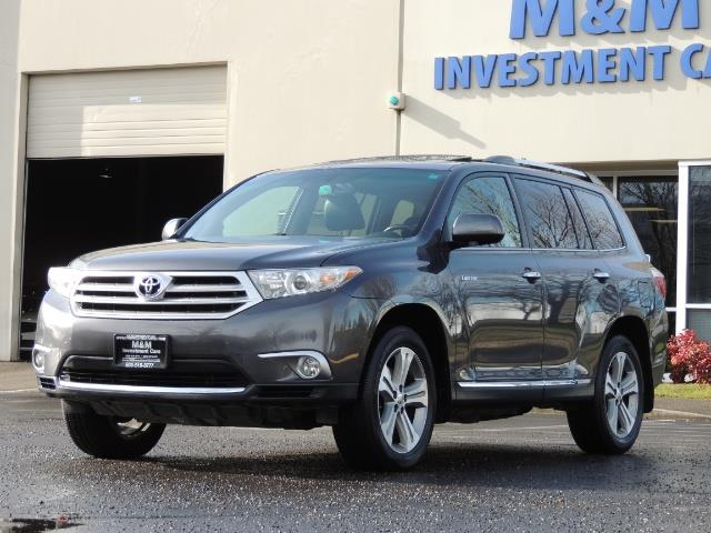 2012 Toyota Highlander Limited All Wheel Drive Navigation Camera Loaded - Photo 1 - Portland, OR 97217