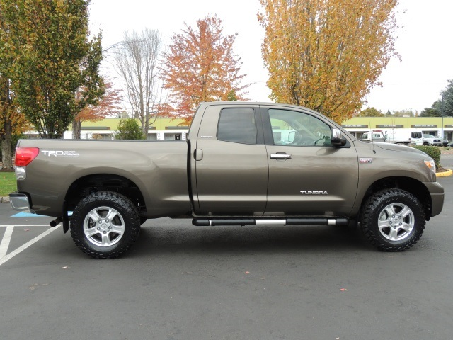 2007 Toyota Tundra Limited / DOUBLE CAB / 4X4 / 5 7 L / TRD