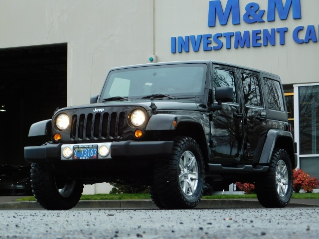 2012 Jeep Wrangler Unlimited Sahara / 4WD / Hard Top / Navi / LIFTED - Photo 48 - Portland, OR 97217