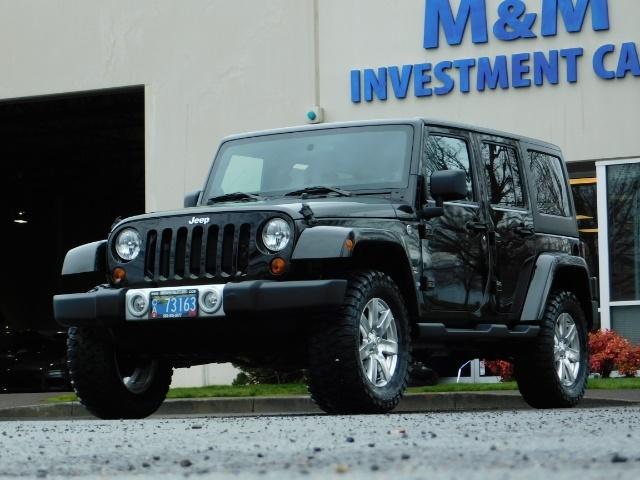 2012 Jeep Wrangler Unlimited Sahara / 4WD / Hard Top / Navi / LIFTED - Photo 44 - Portland, OR 97217