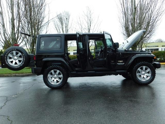 2012 Jeep Wrangler Unlimited Sahara / 4WD / Hard Top / Navi / LIFTED - Photo 30 - Portland, OR 97217