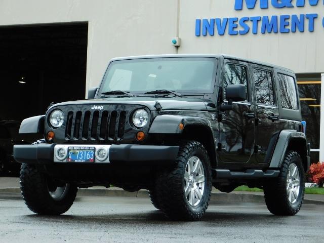 2012 Jeep Wrangler Unlimited Sahara / 4WD / Hard Top / Navi / LIFTED - Photo 47 - Portland, OR 97217