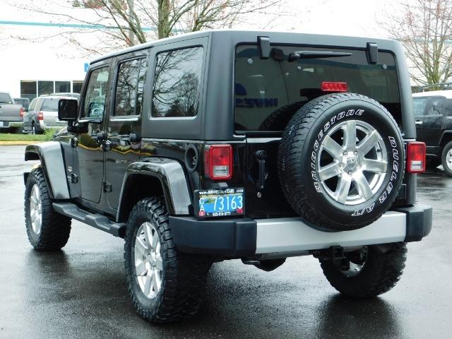2012 Jeep Wrangler Unlimited Sahara / 4WD / Hard Top / Navi / LIFTED - Photo 7 - Portland, OR 97217