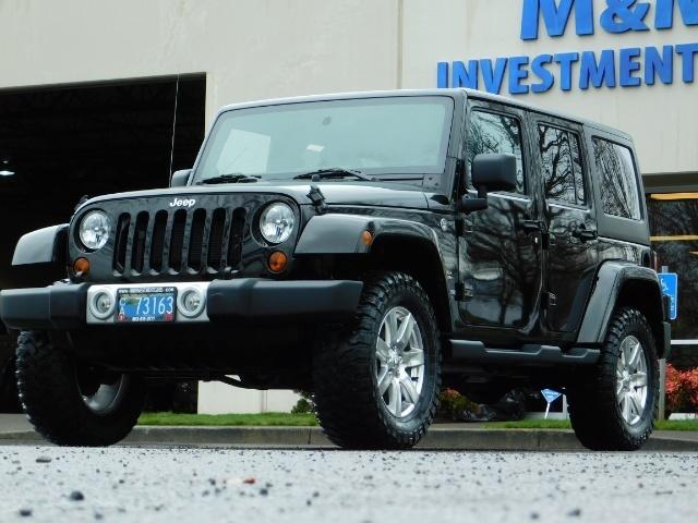 2012 Jeep Wrangler Unlimited Sahara / 4WD / Hard Top / Navi / LIFTED - Photo 43 - Portland, OR 97217