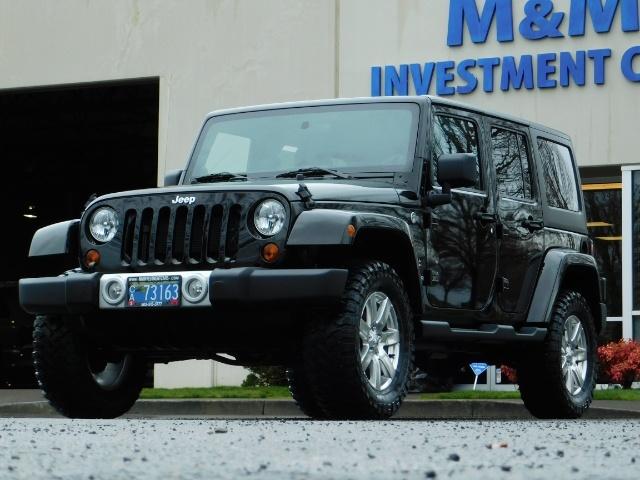 2012 Jeep Wrangler Unlimited Sahara / 4WD / Hard Top / Navi / LIFTED - Photo 46 - Portland, OR 97217