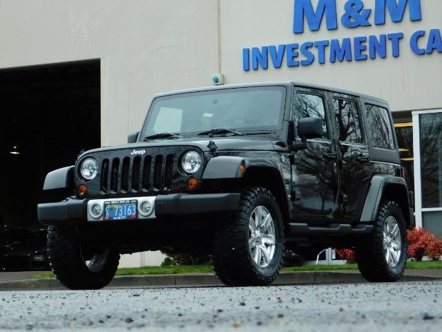 2012 Jeep Wrangler Unlimited Sahara / 4WD / Hard Top / Navi / LIFTED - Photo 42 - Portland, OR 97217