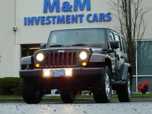 2012 Jeep Wrangler Unlimited Sahara / 4WD / Hard Top / Navi / LIFTED - Photo 50 - Portland, OR 97217