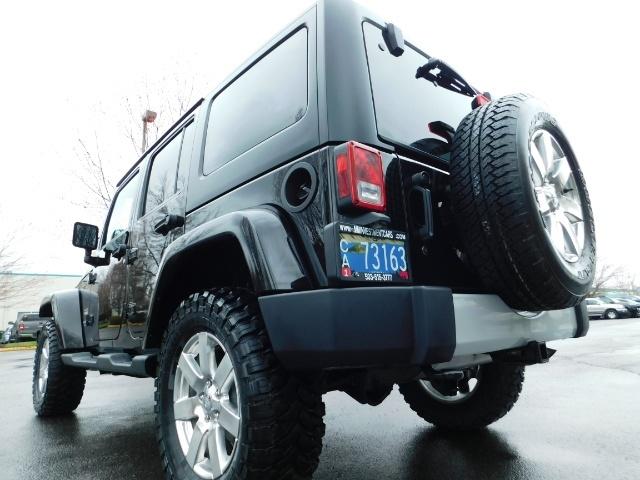 2012 Jeep Wrangler Unlimited Sahara / 4WD / Hard Top / Navi / LIFTED - Photo 11 - Portland, OR 97217