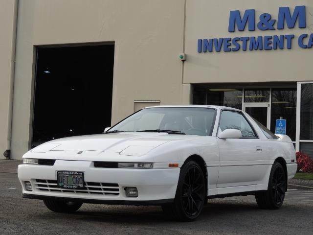 1989 Toyota Supra Turbo 230HP / Sport Top / 103K MILES / Adult Owned