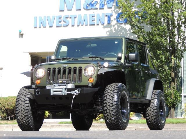 "2008 Jeep Wrangler Unlimited Rubicon 4DR 4WD SoundSystem / LIFTED 35 "" - Photo 1 - Portland, OR 97217"
