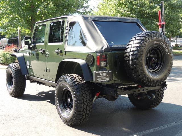 "2008 Jeep Wrangler Unlimited Rubicon 4DR 4WD SoundSystem / LIFTED 35 "" - Photo 6 - Portland, OR 97217"