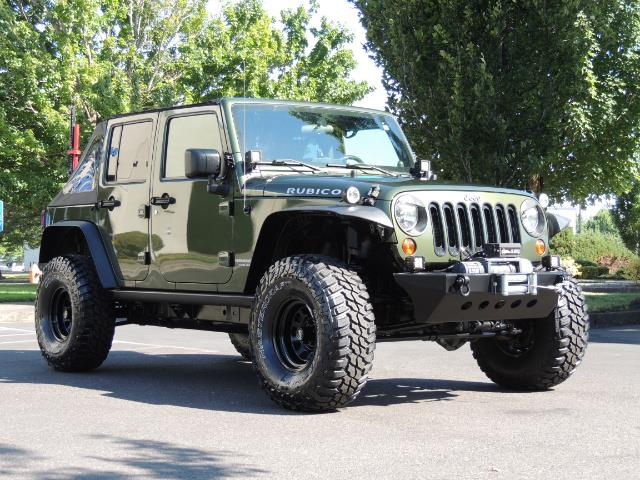 "2008 Jeep Wrangler Unlimited Rubicon 4DR 4WD SoundSystem / LIFTED 35 "" - Photo 2 - Portland, OR 97217"