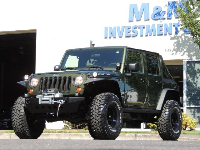 "2008 Jeep Wrangler Unlimited Rubicon 4DR 4WD SoundSystem / LIFTED 35 "" - Photo 40 - Portland, OR 97217"