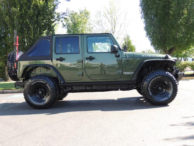 "2008 Jeep Wrangler Unlimited Rubicon 4DR 4WD SoundSystem / LIFTED 35 "" - Photo 3 - Portland, OR 97217"