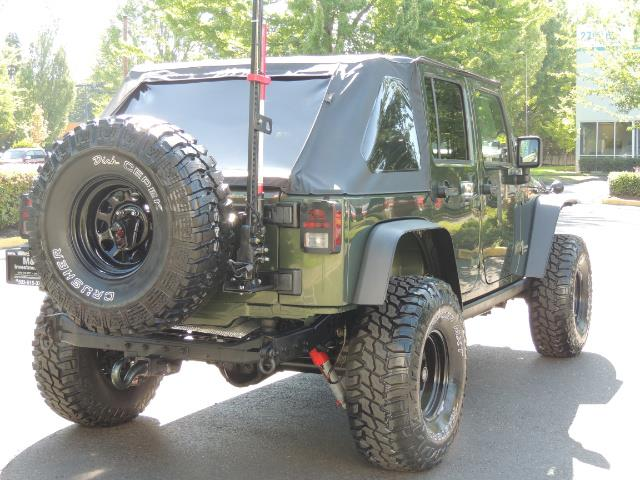 "2008 Jeep Wrangler Unlimited Rubicon 4DR 4WD SoundSystem / LIFTED 35 "" - Photo 8 - Portland, OR 97217"