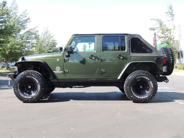 "2008 Jeep Wrangler Unlimited Rubicon 4DR 4WD SoundSystem / LIFTED 35 "" - Photo 4 - Portland, OR 97217"