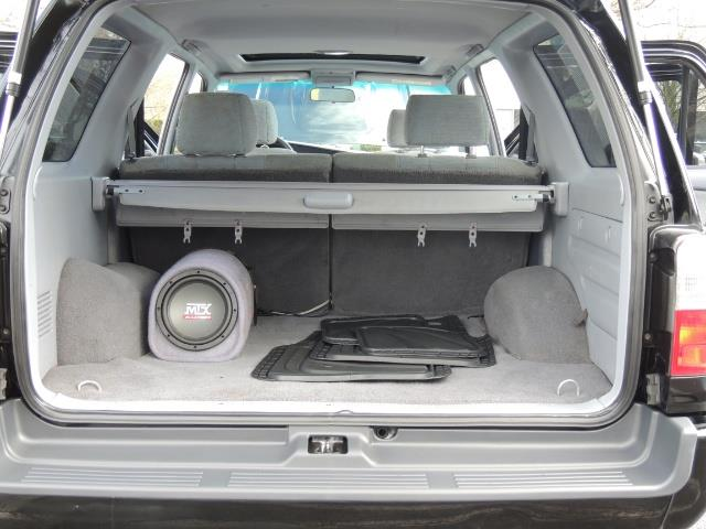 1999 Toyota 4Runner SPORT 4X4 V6 3.4L/ REAR DIFFERENTIAL LOCK / LIFTED - Photo 40 - Portland, OR 97217
