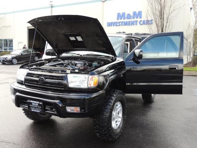 1999 Toyota 4Runner SPORT 4X4 V6 3.4L/ REAR DIFFERENTIAL LOCK / LIFTED - Photo 43 - Portland, OR 97217