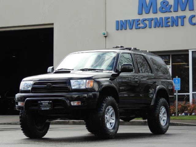 1999 Toyota 4Runner SPORT 4X4 V6 3.4L/ REAR DIFFERENTIAL LOCK / LIFTED - Photo 38 - Portland, OR 97217