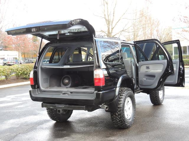 1999 Toyota 4Runner SPORT 4X4 V6 3.4L/ REAR DIFFERENTIAL LOCK / LIFTED - Photo 42 - Portland, OR 97217