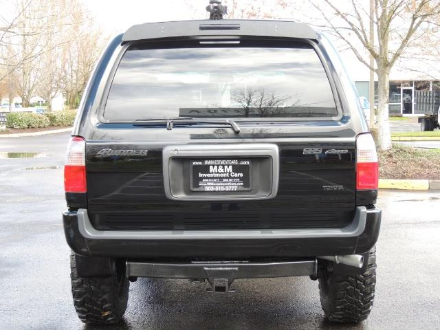 1999 Toyota 4Runner SPORT 4X4 V6 3.4L/ REAR DIFFERENTIAL LOCK / LIFTED - Photo 6 - Portland, OR 97217