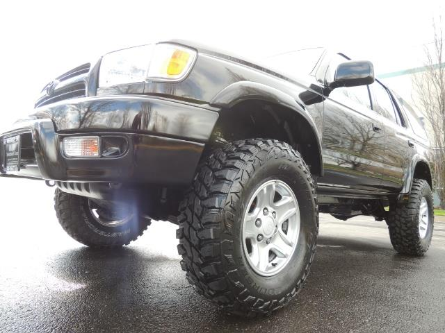 1999 Toyota 4Runner SPORT 4X4 V6 3.4L/ REAR DIFFERENTIAL LOCK / LIFTED - Photo 9 - Portland, OR 97217