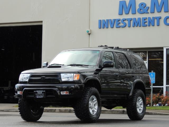 1999 Toyota 4Runner SPORT 4X4 V6 3.4L/ REAR DIFFERENTIAL LOCK / LIFTED - Photo 36 - Portland, OR 97217