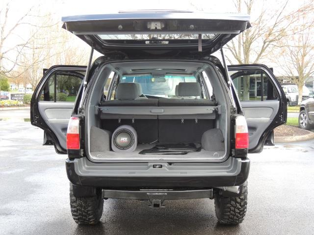 1999 Toyota 4Runner SPORT 4X4 V6 3.4L/ REAR DIFFERENTIAL LOCK / LIFTED - Photo 20 - Portland, OR 97217