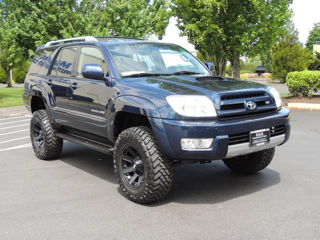 2005 toyota 4runner sport editon 4x4 4inch lift 33 mud rr diff. Black Bedroom Furniture Sets. Home Design Ideas