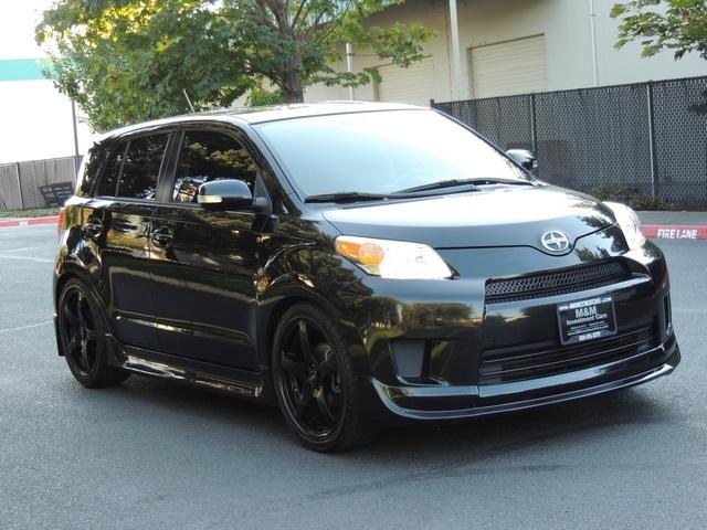 scion xd 2008 black. 2008 scion xd hatchback 5speed manual trd rims many upgrades xd black e