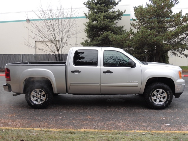 2010 gmc sierra 1500 sle crew cab 4x4 2 inch lift 33 mud tires. Black Bedroom Furniture Sets. Home Design Ideas
