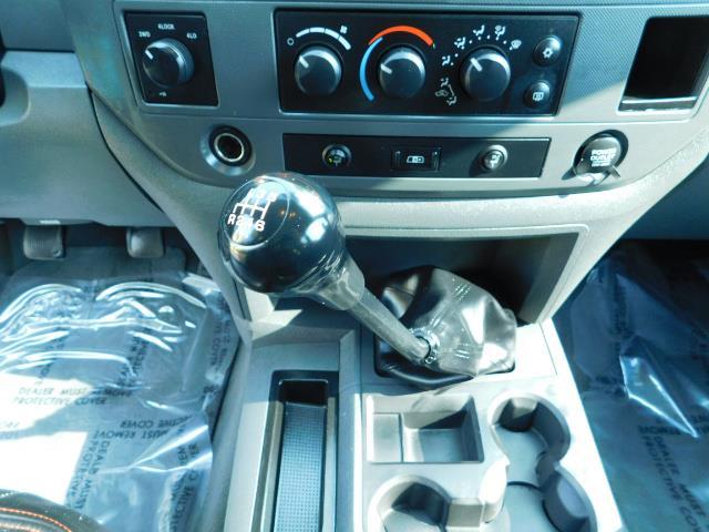 2006 Dodge Ram 2500 SLT Mega Cab / 4X4 / 5.9L DIESEL/ 6-SPEED /Leather - Photo 20 - Portland, OR 97217