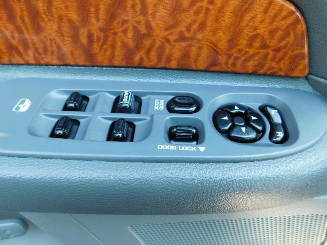 2006 Dodge Ram 2500 SLT Mega Cab / 4X4 / 5.9L DIESEL/ 6-SPEED /Leather - Photo 33 - Portland, OR 97217