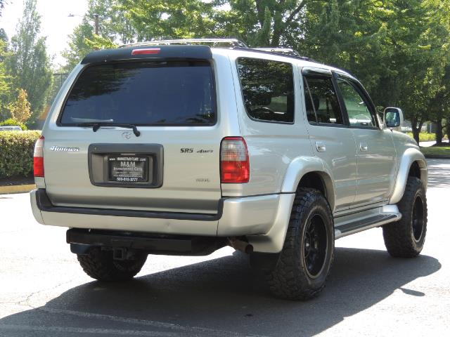 2000 Toyota 4Runner SR5 4dr SR5 / 4X4 /  5-SPEED MANUAL / LIFTED - Photo 7 - Portland, OR 97217