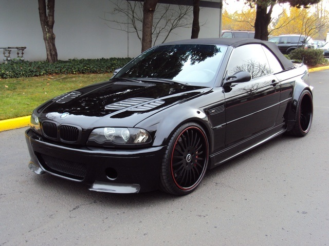 2006 Bmw M3 Convertible Smg Trans Navi One Of A Kind Photo