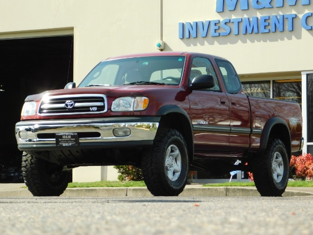 2001 Toyota Tundra Sr5 V8 4 7l Lifted Only 68k Miles