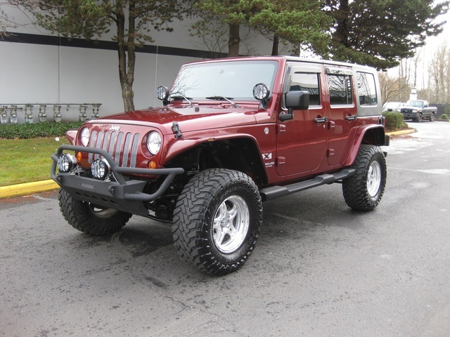 2007 jeep wrangler unlimited 4x4 6 speed hard top lifted. Black Bedroom Furniture Sets. Home Design Ideas