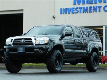 2009 Toyota Tacoma Access Cab 4X4 / TRD OFF ROAD / 5 SPEED / 58K MILS Truck