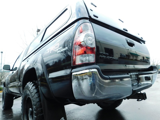 2009 Toyota Tacoma Access Cab 4X4 / TRD OFF ROAD / 5 SPEED / 58K MILS - Photo 10 - Portland, OR 97217