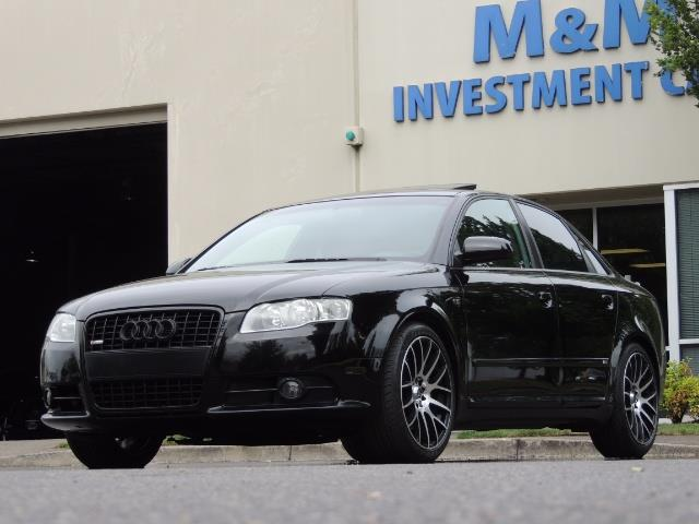 2008 Audi A4 2.0T Special Ed./ S-LINE / Leather / Sunroof - Photo 36 - Portland, OR 97217