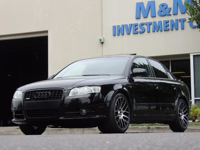 2008 Audi A4 2.0T Special Ed./ S-LINE / Leather / Sunroof - Photo 43 - Portland, OR 97217