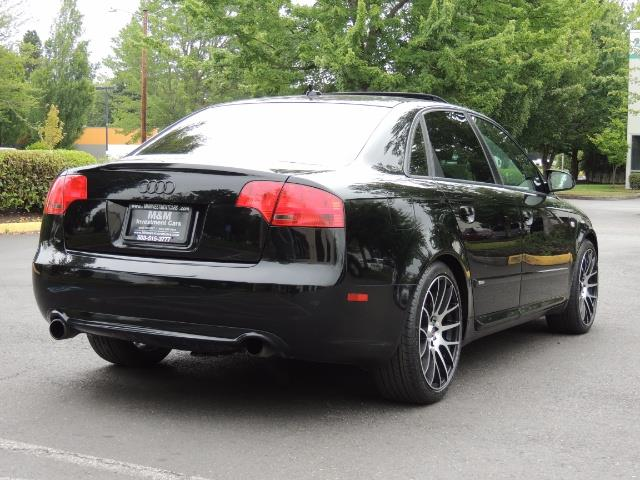 2008 Audi A4 2.0T Special Ed./ S-LINE / Leather / Sunroof - Photo 8 - Portland, OR 97217