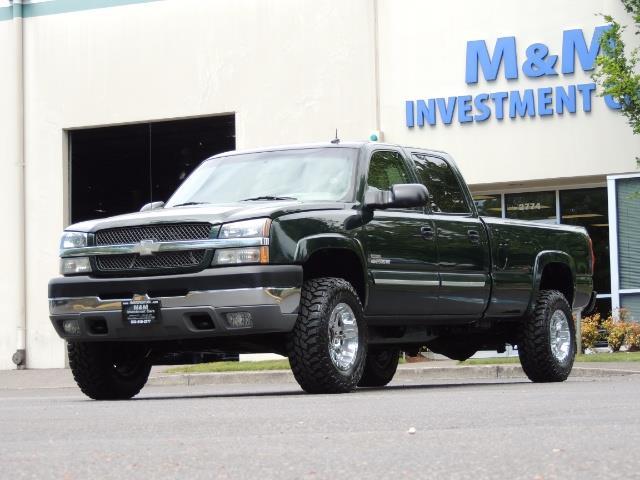 2003 Chevrolet Silverado 2500 LT 4dr Crew Cab LT / 4X4 / 6.6L DURAMAX / ALLISON - Photo 44 - Portland, OR 97217