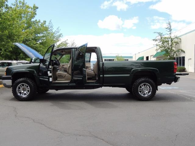 2003 Chevrolet Silverado 2500 LT 4dr Crew Cab LT / 4X4 / 6.6L DURAMAX / ALLISON - Photo 26 - Portland, OR 97217