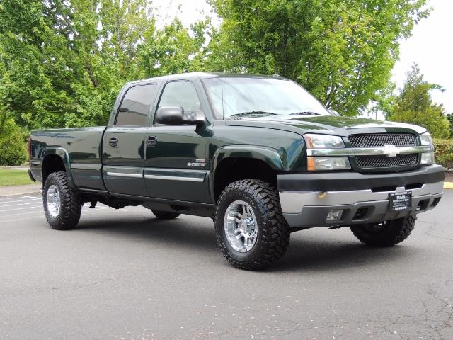 2003 Chevrolet Silverado 2500 LT 4dr Crew Cab LT / 4X4 / 6.6L DURAMAX / ALLISON - Photo 2 - Portland, OR 97217