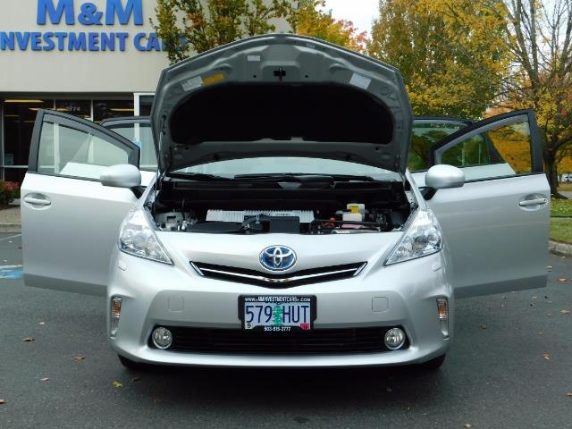 2012 Toyota Prius V Five / Wagon / Leather/ Heated seats / Navigation - Photo 32 - Portland, OR 97217