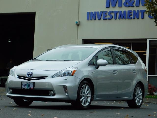 2012 Toyota Prius V Five / Wagon / Leather/ Heated seats / Navigation - Photo 46 - Portland, OR 97217