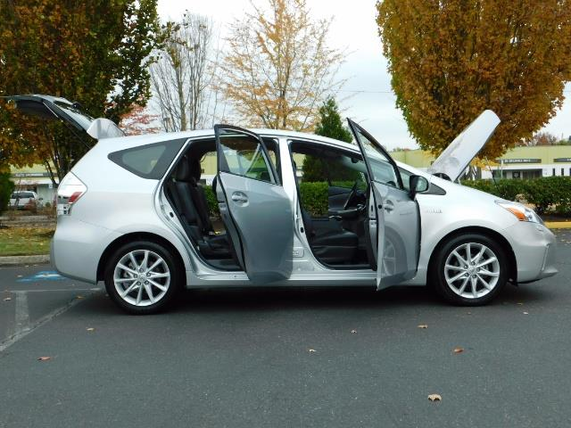2012 Toyota Prius V Five / Wagon / Leather/ Heated seats / Navigation - Photo 30 - Portland, OR 97217