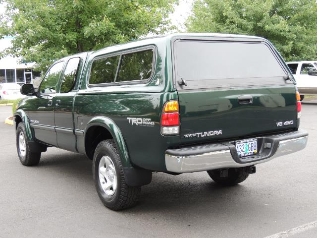 2000 Toyota Tundra Limited 4dr Limited / 4X4 / TRD OFF RD / Leather - Photo 7 - Portland, OR 97217