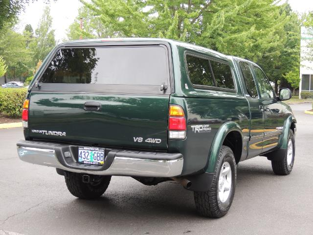 2000 Toyota Tundra Limited 4dr Limited / 4X4 / TRD OFF RD / Leather - Photo 8 - Portland, OR 97217